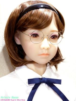 AXB Doll #50 Head & 120cm Body メガネを掛けさせてみた。。。