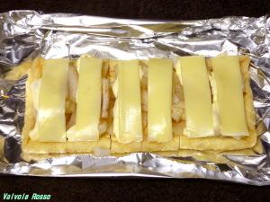 チーズを載せたら、トースターで6~7分。