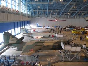エアーパーク 航空自衛隊 浜松広報館 展示格納庫-展示航空機