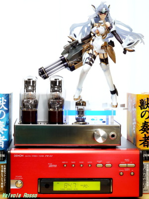 ALTER Xenosaga Ⅲ KOS-MOS Ver.4 DENON TU-5.5K チューナー 6DJ8-1626 Single Ended Amplifier (Tube Headphone Amplifier) Photo: Panasonic LUMIX DMC-GF5 LEICA Summicron M 50mm F2