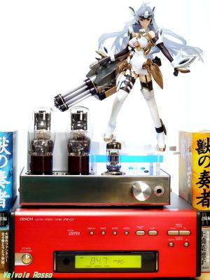 ALTER Xenosaga Ⅲ KOS-MOS Ver.4 DENON TU-5.5K チューナー 6DJ8-1626 Single Ended Amplifier (Tube Headphone Amplifier) Photo: Panasonic LUMIX DMC-GF5 LEICA Summicron M 50mm F2
