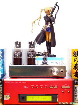 Good Smile Company GUNSLINGER GIRL Triela DENON TU-5.5K チューナー 6DJ8-1626 Single Ended Amplifier (Tube Headphone Amplifier) Photo: Panasonic LUMIX DMC-GF5 LEICA Summicron M 50mm F2