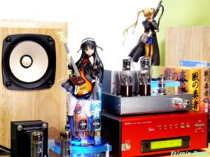 ALTER K-ON! Mio Akiyama Festival Version / Good Smile Company GUNSLINGER GIRL Triela DENON TU-5.5K チューナー 6DJ8-1626 Single Ended Amplifier (Tube Headphone Amplifier) Photo: Panasonic LUMIX DMC-GF5 & G VARIO 14-45mm/F3.5-5.6 ASPH/MEGA O.I.S.