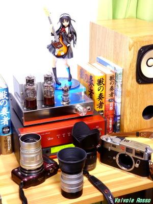 ALTER K-ON! Mio Akiyama Festival Version DENON TU-5.5K チューナー 6DJ8-1626 Single Ended Amplifier (Tube Headphone Amplifier) Photo: Panasonic LUMIX DMC-FX80