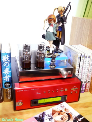 Good Smile Company GUNSLINGER GIRL Henrietta & Triela DENON TU-5.5K チューナー 6DJ8-1626 Single Ended Amplifier (Tube Headphone Amplifier) Photo: Panasonic LUMIX DMC-GF5 & G 20mm/F1.7 ASPH.
