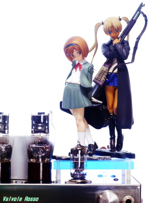 Good Smile Company GUNSLINGER GIRL Henrietta & Triela 6DJ8-1626 Single Ended Amplifier Photo: Panasonic LUMIX DMC-GF5 Voigtlander 75mm f2.5 mc color-heliar