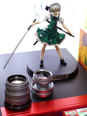 LEICA Summicron M 50mm F2 & Elmar M 50mm F2.8 Griffon Enterprise Touhou Project: Youmu Konpaku Photo: Panasonic LUMIX DMC-GF5 & G VARIO 14-45mm/F3.5-5.6 ASPH/MEGA O.I.S.