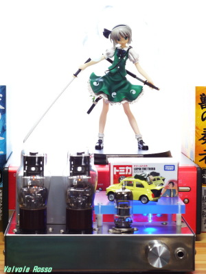 6DJ8-1626 Single Ended Amplifier Griffon Enterprise Touhou Project: Youmu Konpaku Photo: Panasonic LUMIX DMC-GF5 LEICA Summicron M 50mm F2