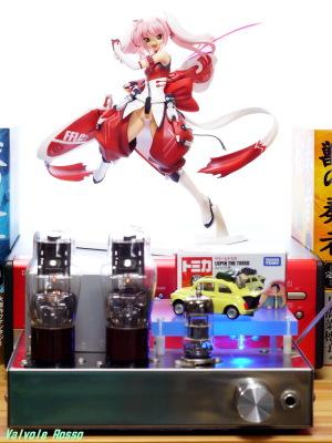 6DJ8-1626 Single Ended Amplifier Alter Beat Blades Haruka: Narika Shihoudou Beat Blades Version Photo: Panasonic LUMIX DMC-GF5 LEICA Summicron M 50mm F2