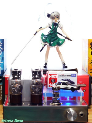 6DJ8-1626 Single Ended Amplifier Griffon Enterprise Touhou Project: Youmu Konpaku Photo: Panasonic LUMIX DMC-GF5 LEICA Elmar M 50mm F2.8
