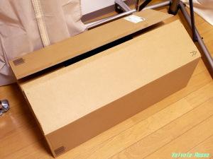 アマゾンから全長70cmくらいのダンボール箱が届きました。