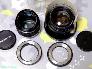 OLYMPUS ZUIKO 85mm F2 & LZOS(Lytkarino) MC JUPITER9 85mm F2 (M42)