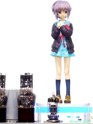 6DJ8-1626 Single Ended Amplifier & Max Factory The Melancholy of Haruhi Suzumiya: Yuki Nagato Photo: Panasonic LUMIX DMC-GF5 & LZOS(Lytkarino) MC JUPITER9 85mm F2 (M42)