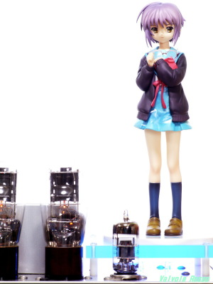 6DJ8-1626 Single Ended Amplifier & Max Factory The Melancholy of Haruhi Suzumiya: Yuki Nagato Photo: Panasonic LUMIX DMC-GF5 & OLYMPUS ZUIKO 85mm F2
