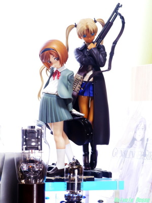 Good Smile Company GUNSLINGER GIRL Henrietta & Triela & 6DJ8-1626 Single Ended Amplifier Photo: Panasonic LUMIX DMC-GF5 & Voigtlander 75mm f2.5 mc color-heliar