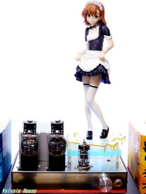 6DJ8-1626 Single Ended Amplifier & Kotobukiya Toaru Kagaku no Railgun: Mikoto Misaka -Toaru Maid Sugata no Railgun Photo: Panasonic LUMIX DMC-GF5 & G VARIO 14-45mm/F3.5-5.6 ASPH/MEGA O.I.S.