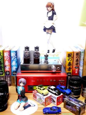 《2000x1500 フォトショップで調整》 DMC-GF5/LUMIX G VARIO 14-45/F3.5-5.6 Kotobukiya Toaru Kagaku no Railgun: Mikoto Misaka -Toaru Maid Sugata no Railgun & ALTER The Melancholy of Haruhi Suzumiya: Yuki Nagato Uniform Ver. & Tomica Lupin the Third: The Castle of Cagliostro FIAT500 & Initial D: AE86 TRUENO &  NISSAN SKYLINE GT-R V-SPEC2 Nur & FAIRLADY Z