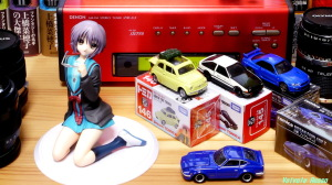 《1280x720 トリミング》 DMC-GF5/LUMIX G VARIO 14-45/F3.5-5.6 ALTER The Melancholy of Haruhi Suzumiya: Yuki Nagato Uniform Ver. & Tomica Lupin the Third: The Castle of Cagliostro FIAT500 & Initial D: AE86 TRUENO &  NISSAN SKYLINE GT-R V-SPEC2 Nur & FAIRLADY Z