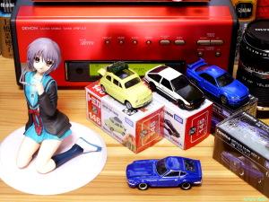 《2000x1500 フォトショップで調整》 DMC-GF5/LUMIX G VARIO 14-45/F3.5-5.6 ALTER The Melancholy of Haruhi Suzumiya: Yuki Nagato Uniform Ver. & Tomica Lupin the Third: The Castle of Cagliostro FIAT500 & Initial D: AE86 TRUENO &  NISSAN SKYLINE GT-R V-SPEC2 Nur & FAIRLADY Z