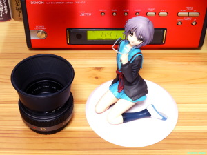 《2000x1500 フォトショップで調整》 DMC-GF5/LUMIX G VARIO 14-45/F3.5-5.6 ALTER The Melancholy of Haruhi Suzumiya: Yuki Nagato Uniform Ver. & Panasonic LUMIX G 20mm/F1.7 ASPH.
