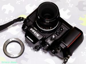 NikonF4 & マイクロニッコール55mmF2.8 & AI-4/3Adaptor