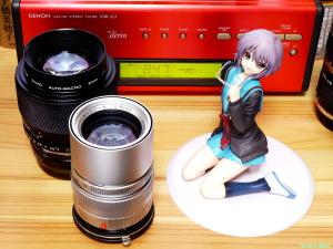 《2000x1500 フォトショップで調整》 LEICA Elmarit M 90mm F2.8 & OLYMPUS ZUIKO AUTO-MACRO 90mm F2 & ALTER The Melancholy of Haruhi Suzumiya: Yuki Nagato Uniform Ver. Photo: Panasonic LUMIX G VARIO 14-45/F3.5-5.6