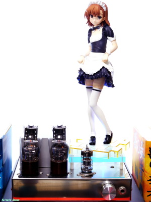6DJ8-1626 Single Ended Amplifier & Kotobukiya Toaru Kagaku no Railgun: Mikoto Misaka -Toaru Maid Sugata no Railgun Photo: Panasonic LUMIX DMC-GF5 & G VARIO 14-45mm/F3.5-5.6 ASPH/MEGA O.I.S.