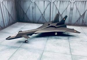 1/144 MIG-31 Fire Fox プラモデル