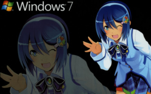 Windows7非公認キャラクター 窓辺ななみ