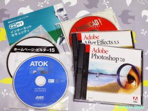 Photoshop7、TurboCAD8、ホームページビルダー15、ATOK2013等、テツさんが使っていた32bitソフトは全部インストールできました。