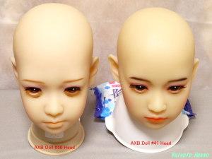 AXB Doll #50& #41 Head