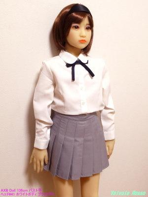 AXB Doll 136cm バスト平 ヘッド#41 ホワイトボディ ブラックアイ