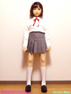 AXB Doll 120cm Body & #41 Head / GUNSLINGER GIRL Henrietta Cosplay Ver.