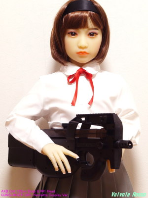 AXB Doll 120cm Body & #41 Head / GUNSLINGER GIRL Henrietta Cosplay Ver.