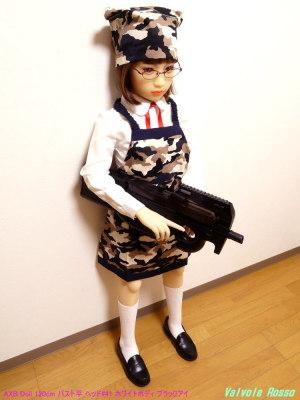 AXB Doll 120cm バスト平 ヘッド#41 ホワイトボディ ブラックアイ