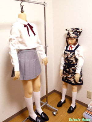 AXB Doll 120cm と 136cmボディ