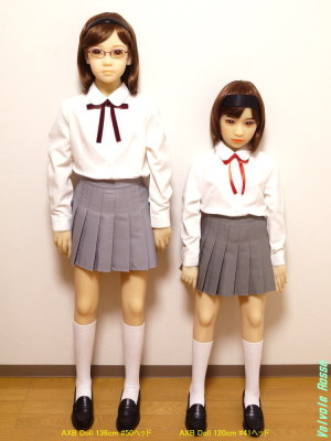 AXB Doll 136cm Body #50 Head & AXB Doll 120cm Body #41 Head / GUNSLINGER GIRL Henrietta Cosplay