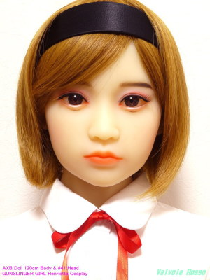 AXB Doll 120cm Body & #41 Head / GUNSLINGER GIRL Henrietta Cosplay