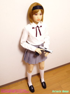 AXB Doll 136cm Body & #41 Head / GUNSLINGER GIRL Henrietta Cosplay