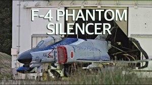"""301飛行隊 青スペマ F-4ファントム サイレンサー 整備 """" Phantom in The SILENCER """" JASDF 301sq F-4 Phantom"""