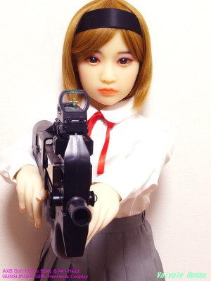AXB Doll 120cm Body & #41 Head / GUNSLINGER GIRL Henrietta Cosplay