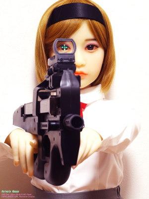 《2000x1500 フォトショップで調整》 DMC-GF5/OLYMPUS ZUIKO AUTO-MACRO 50mm F2/絞り優先AE/0.62秒/F11/マルチ測光/+1.0/ISO200/50.00mm/100mm AXB Doll 120cm Body & #41 Head / GUNSLINGER GIRL Henrietta Cosplay